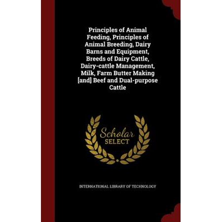 Principles of Animal Feeding, Principles of Animal Breeding, Dairy Barns and Equipment, Breeds of Dairy Cattle, Dairy-Cattle Management, Milk, Farm Butter Making [And] Beef and Dual-Purpose (Medicated Feed Additives For Beef Cattle And Calves)