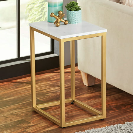Mainstays End Table, Multiple Finishes
