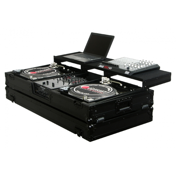"Odyssey FZGSPBM10WBL New Battle Mode Coffin Case For 2 Turntables & 1 10"" Mixer by"