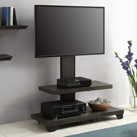 Whalen 2-Shelf Television Floater Mount for TVs up to 55