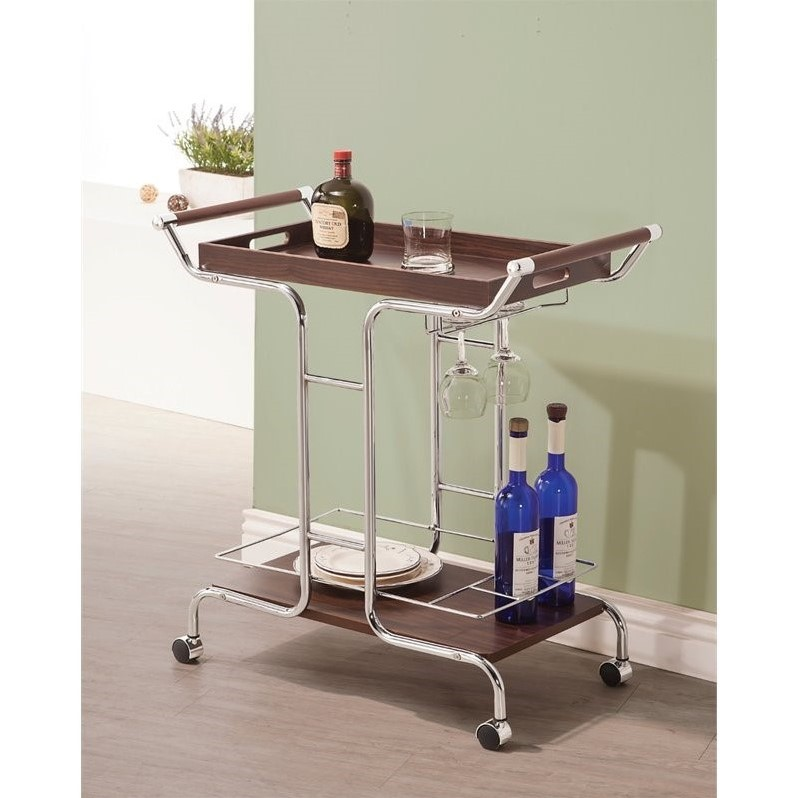 Coaster Serving Cart, Item 910065 by Coaster