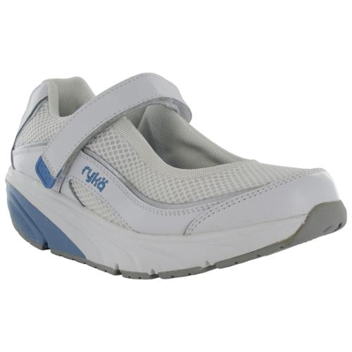 ryka s relief toning shoes white blue us