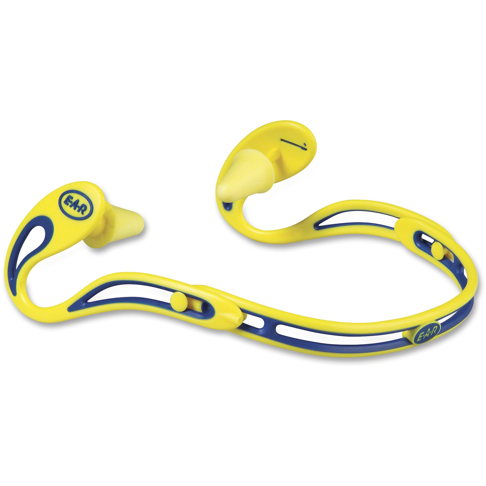 E-A-R, MMM3222000, Swerve Banded Corded Hearing Protectors, 1 Each, Yellow