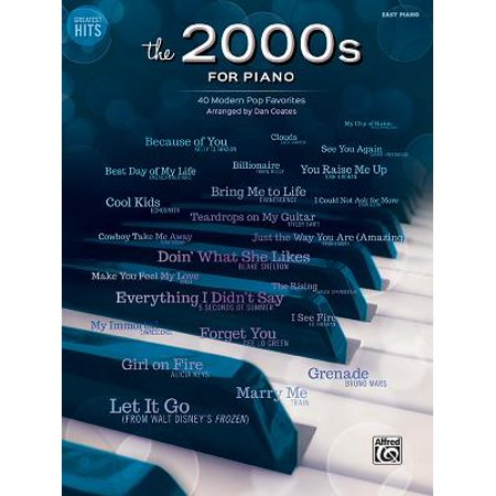 Greatest Hits -- The 2000s for Piano : 40 Modern Pop (Best Musicians Of The 2000s)