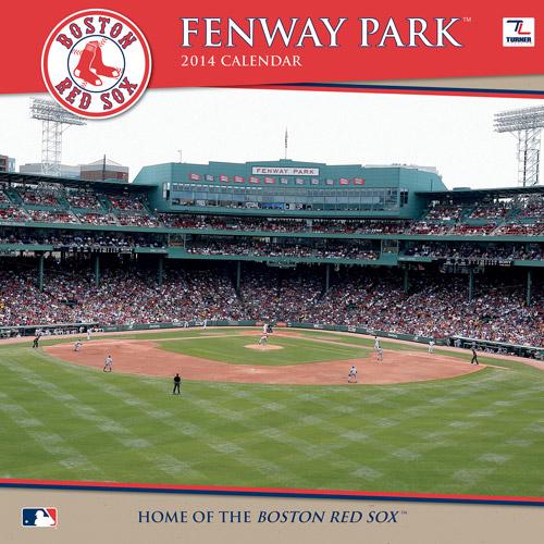 "Turner Licensing Boston Red Sox Fenway Park 2014 12"" x 12"" Wall Calendar"