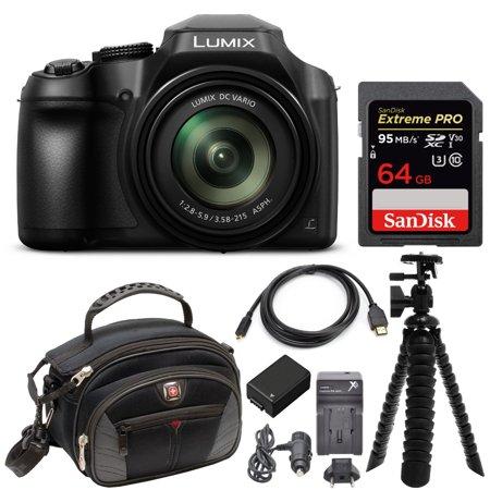 Panasonic LUMIX FZ80 4K Long Zoom 18.1 Megapixel Digital Camera (Best Long Zoom Point And Shoot Camera)