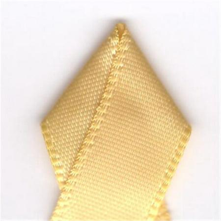 Papilion R07430206064420YD .25 pouces simple face ruban de satin 20 Verges - Buttercup - image 1 de 1