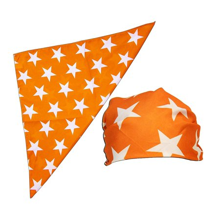 Macho Man Star Printed Costume Bandana and Glasses Set
