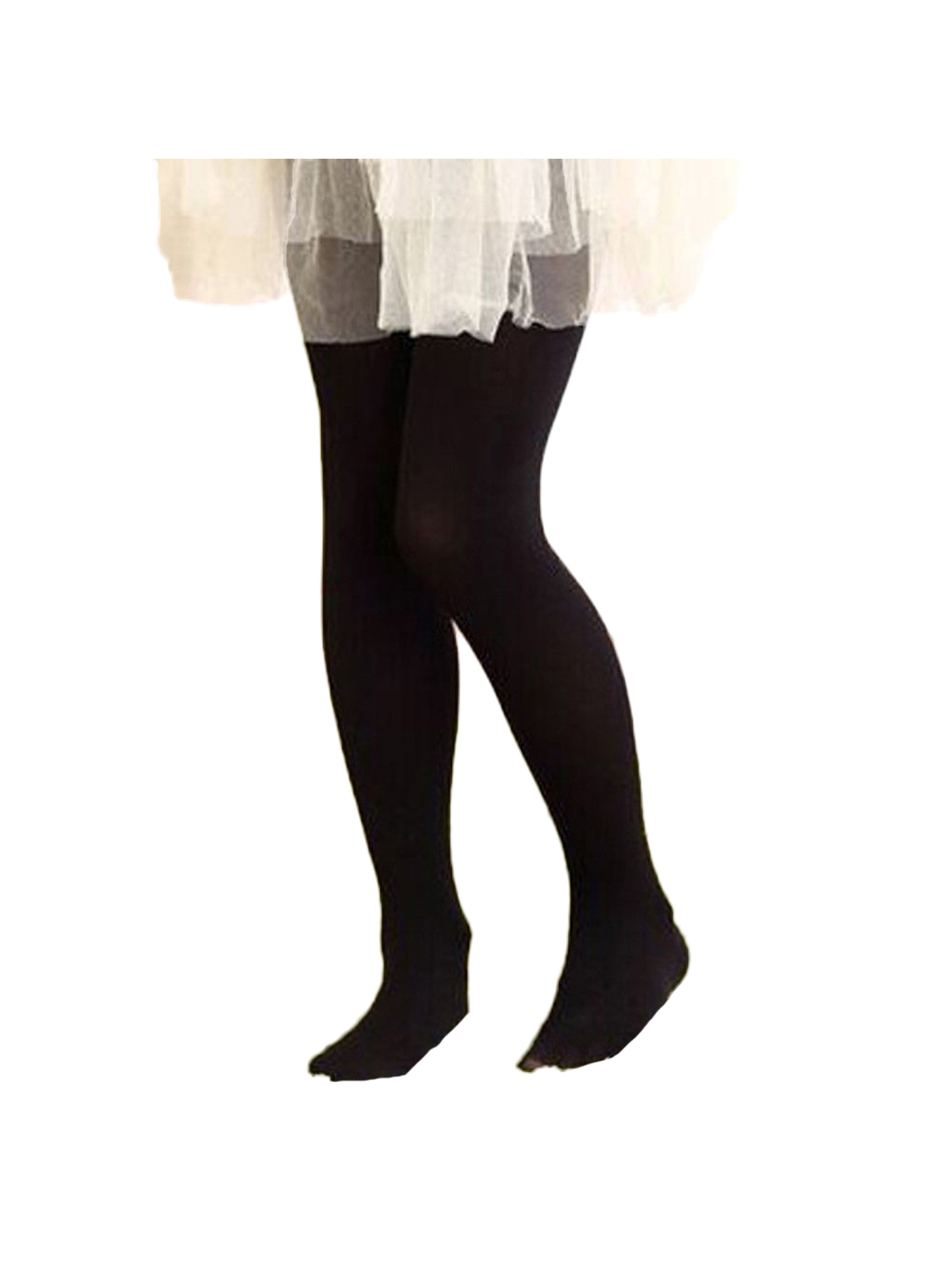 Kids Girls Tights Opaque Pantyhose Hosiery Stocking Ballet Dance Socks CB