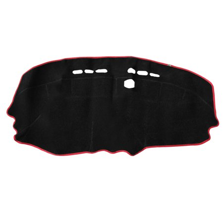 Unique BargainsCar Inner Dash Sun Cover Dashboard Dashmat Mat Carpet Pad for  Spark Caramel Dash Cover Mat