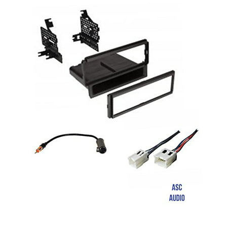- ASC Car Stereo Dash Install Kit, Wire Harness, and Antenna Adapter for Nissan: 05-07 Frontier, 05-07 Pathfinder (no factory navigation),08-12 Pathfinder S,04-05 Titan (base model, no Nav),05-07 Xterra