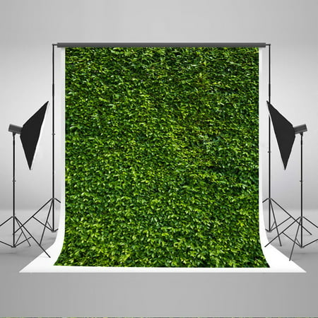 HelloDecor Polyster 5x7ft Natural Scenery Photography Backdrops for Photographers Green Grass Children Photo Background