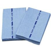 Tuff-Job Antimicrobial Foodservice Towels, Blue, 12 X 21, 1/4 Fold, 150/carton