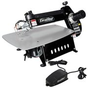 Factory-Reconditioned Excalibur EX-21CRB 21 in. Tilting Head Scroll Saw with Foot Switch (Refurbished)