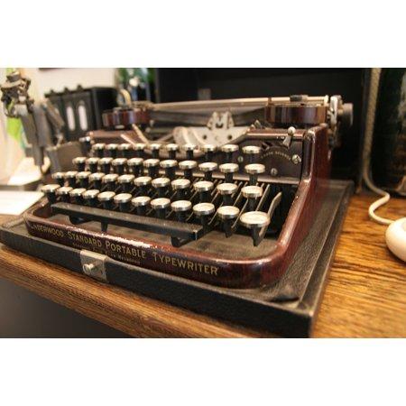 - LAMINATED POSTER Keys Typewriter Historically Keyboard Old Office Poster Print 24 x 36