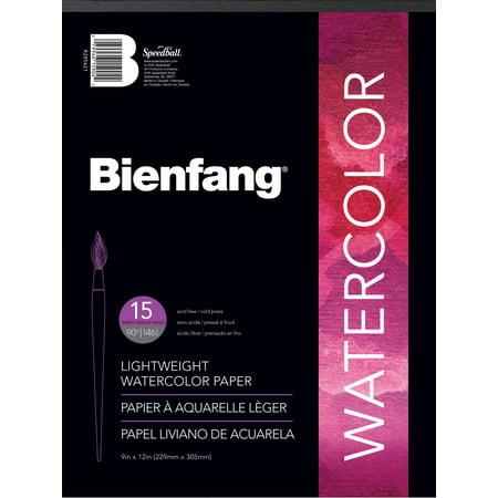 Bienfang Watercolor Paper Pad, 9