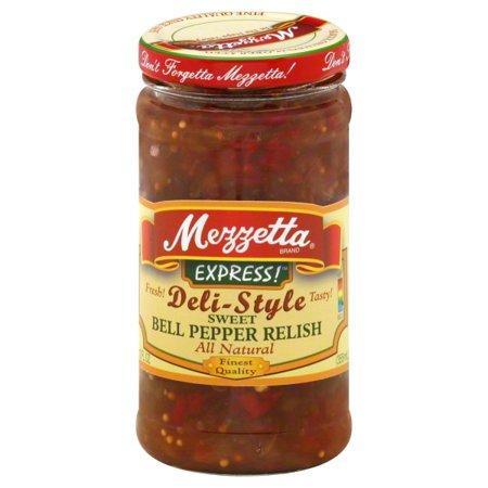 Halloween Bell Peppers (GL Mezzetta Mezzetta Express! Bell Pepper Relish, 12)