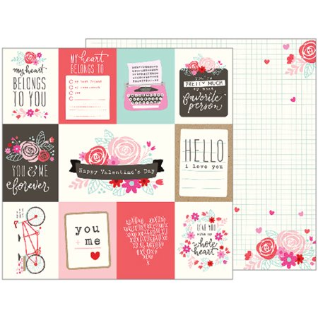 Forever My Always Double Sided Cardstock 12 X12  Xoxo Quotes