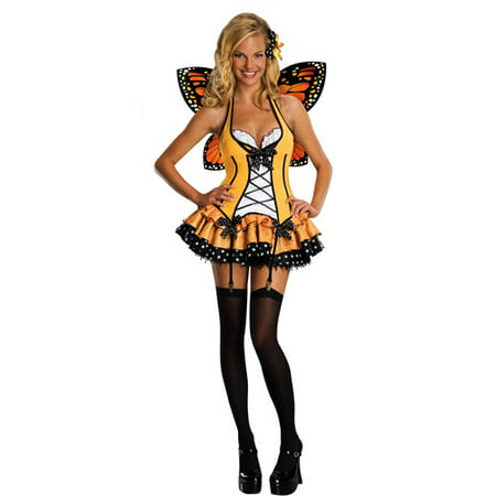 Fantasy Butterfly Adult Halloween Costume - Maquillaje De Halloween