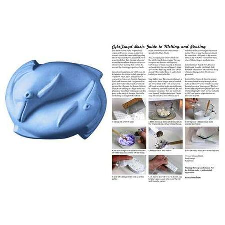 Milky Way Clear PVC Dolphins Soap Mold - Makes 3.5 oz Bars. Melt & Pour, Cold Process