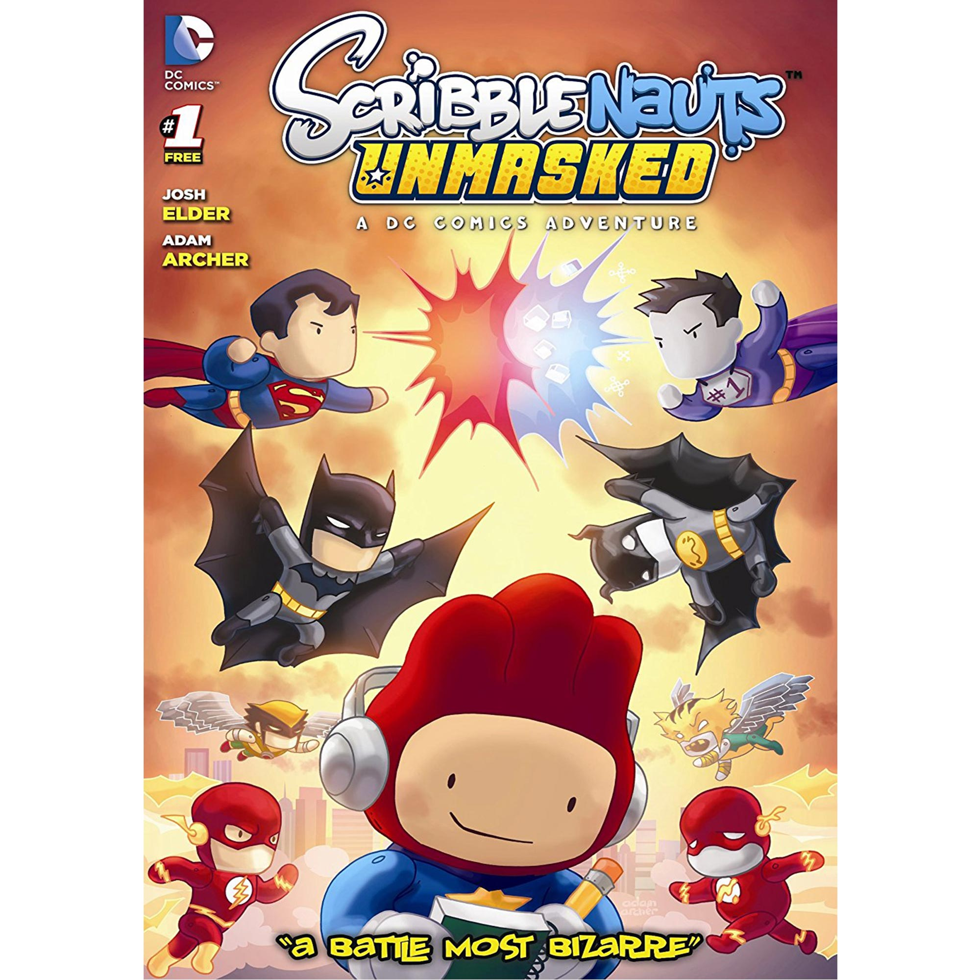 Scribblenauts Unmasked: A DC Comics Adventure (PC) (Email Delivery)