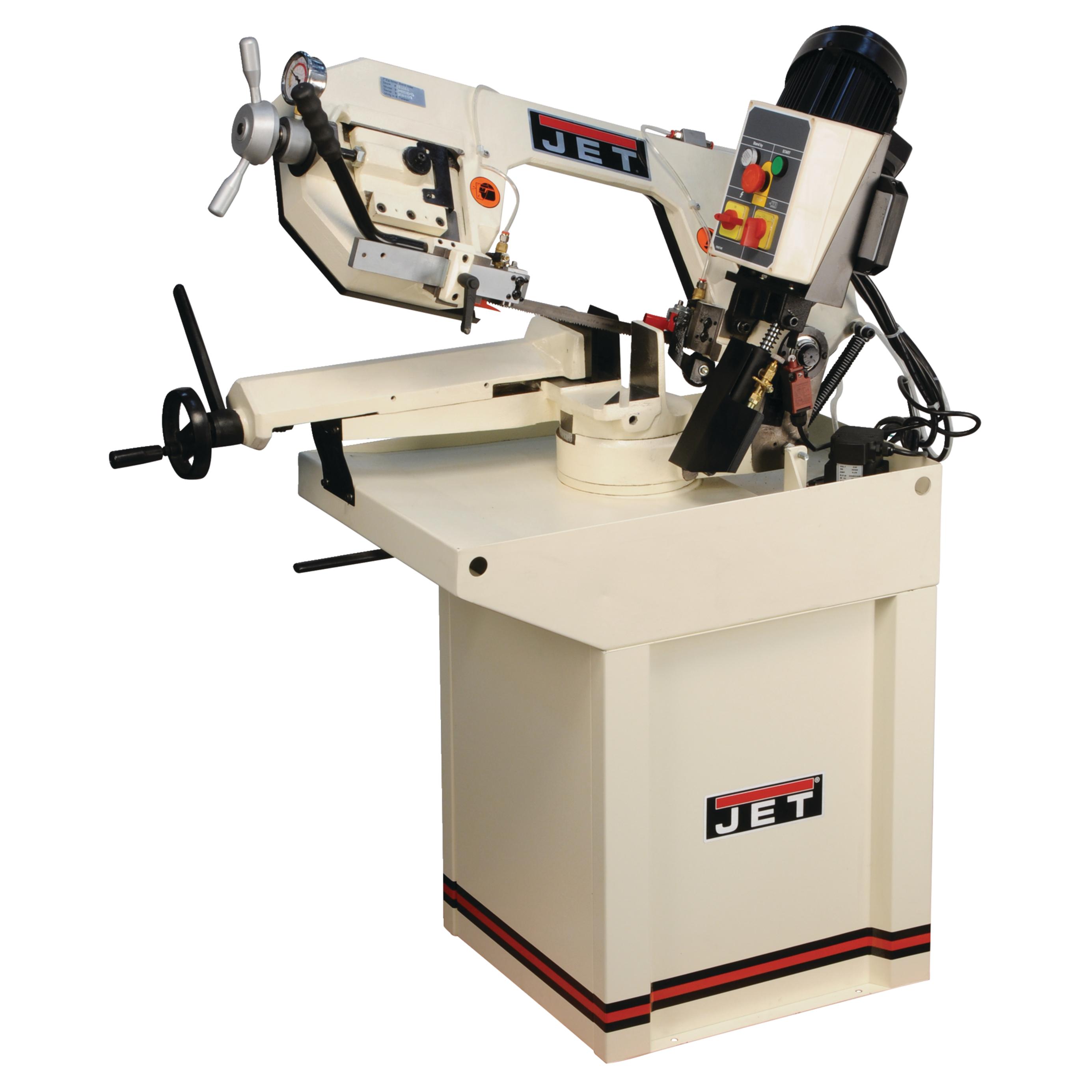 "JET J-9180-3 7"" Zip Miter Horizontal Bandsaw 230V 3PH - 414464"