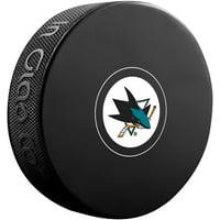 San Jose Sharks Unsigned InGlasCo Autograph Model Hockey Puck - Fanatics Authentic Certified