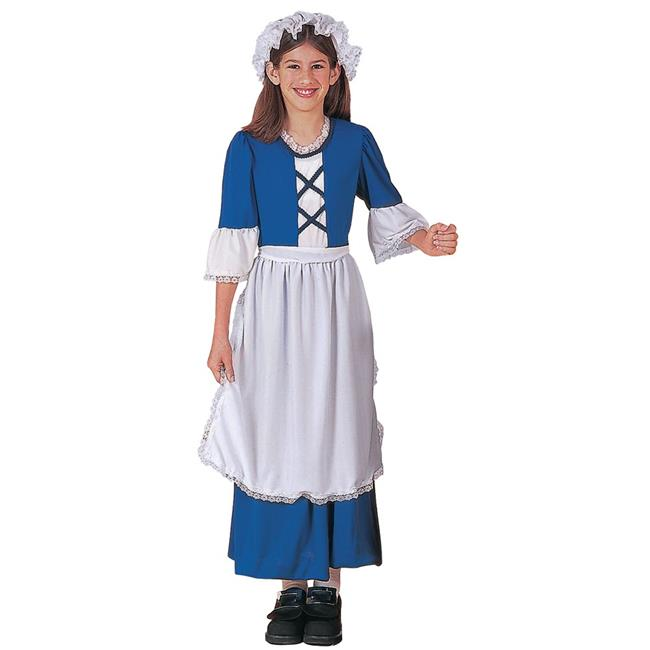 Morris Costumes FM54149SM Little Colonial Miss Child Costume