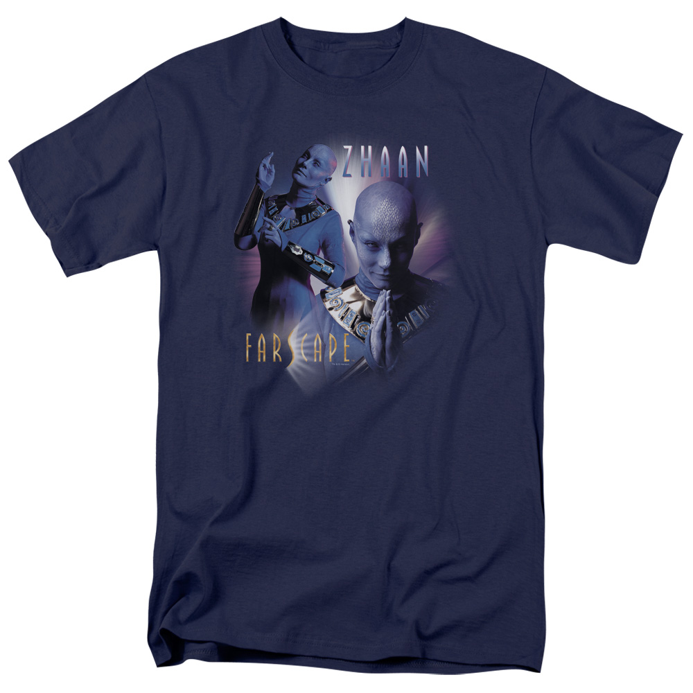 Farscape Zhaan Mens Short Sleeve Shirt