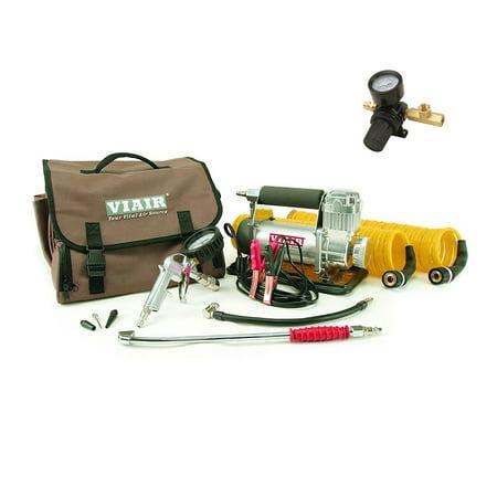 Viair 400P-RV Automatic Portable Air Compressor Kit & Tank Pressure