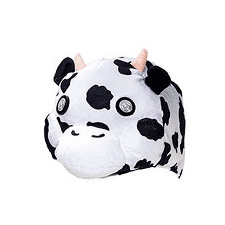Hog Wild Soft, Cuddly and Wearable Headlights - Cuddly Cow