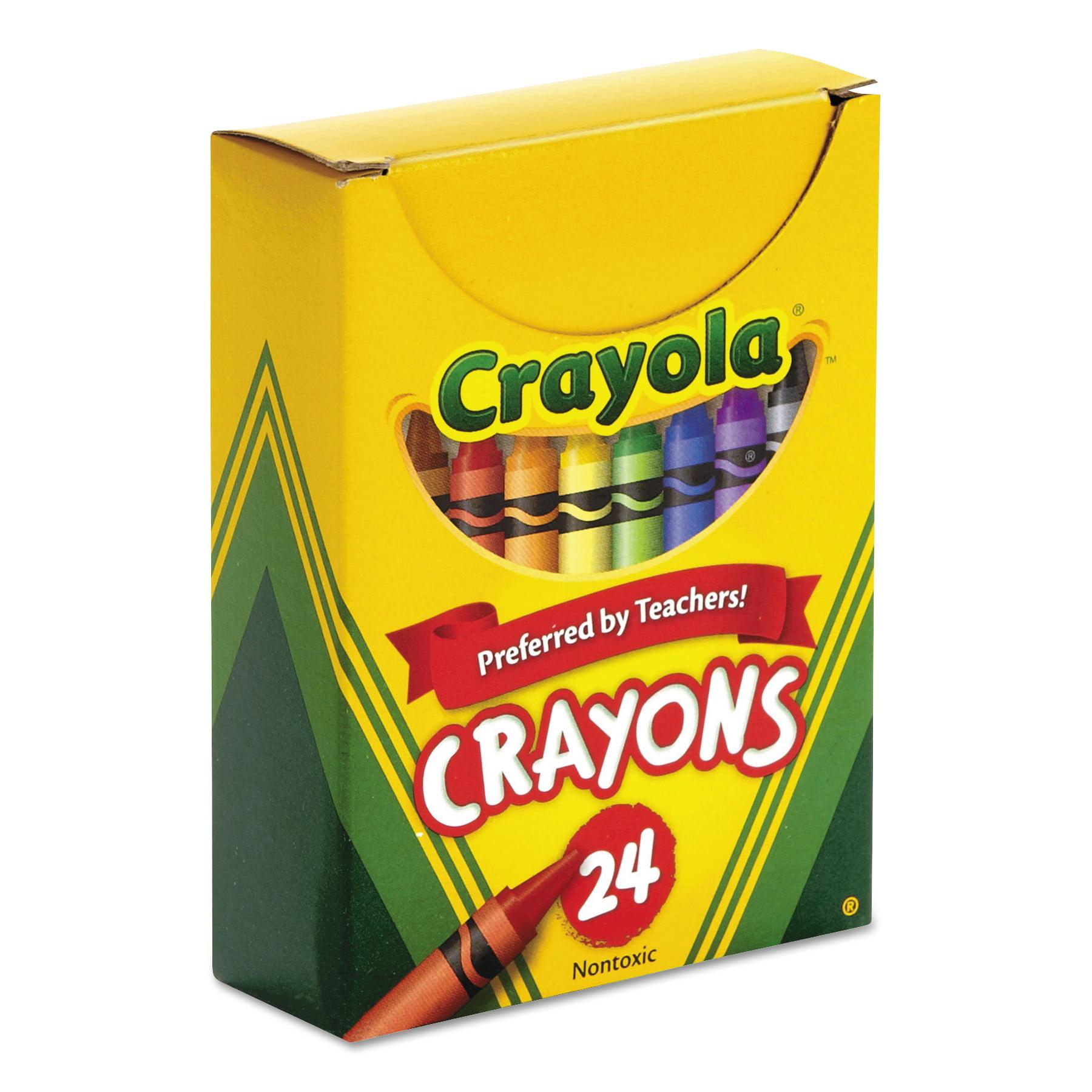 crayola classic color crayons tuck box 24 colors cyo520024