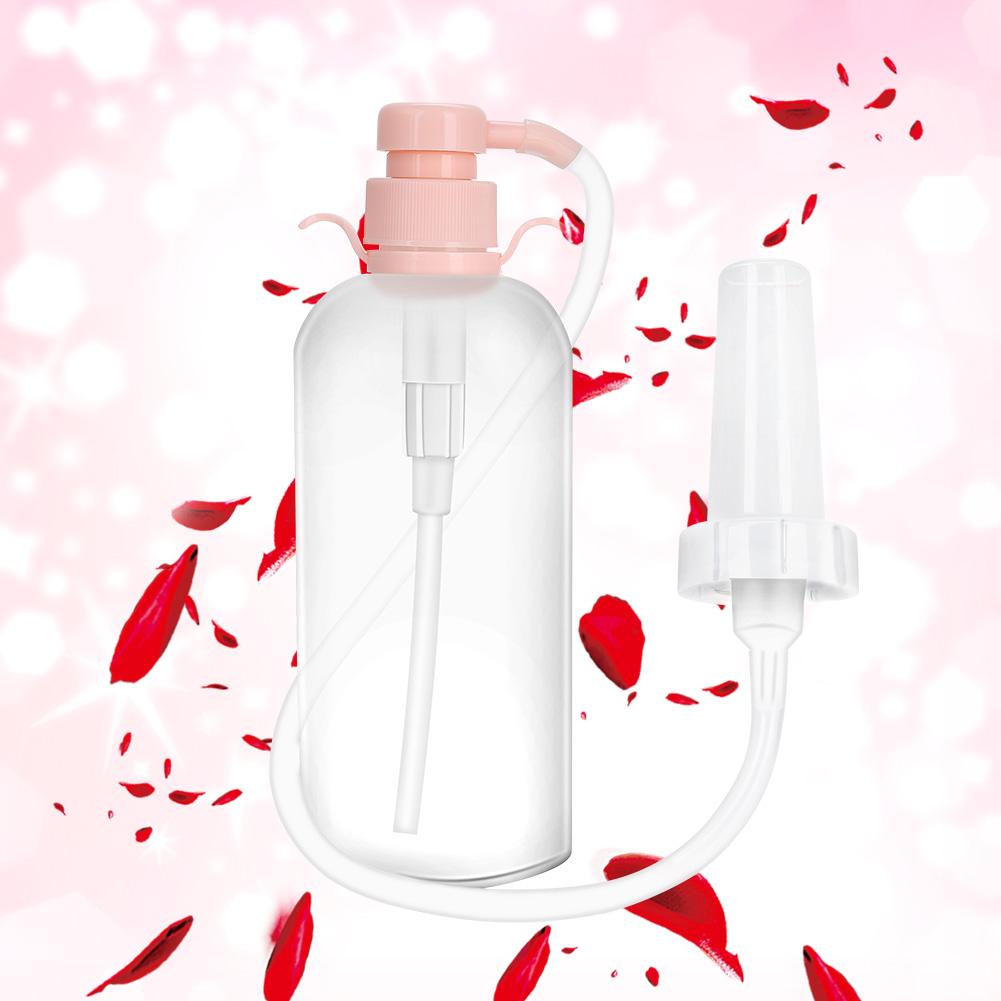 350ml Vagina Irrigator Anal Cleaner Reusable Medical Vaginal Washing