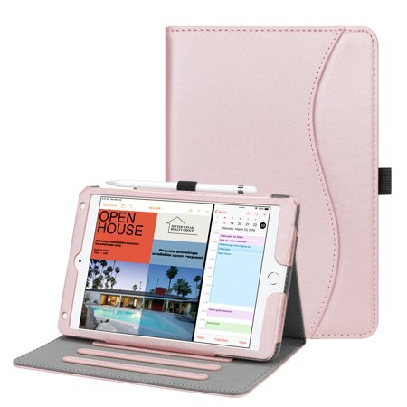 Fintie iPad mini 5 2019 / mini 4 Case - Multi-Angle Viewing Folio Cover with Auto Sleep/Wake, Rose