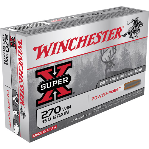 Winchester Super X 270-Caliber Power-Point Ammo