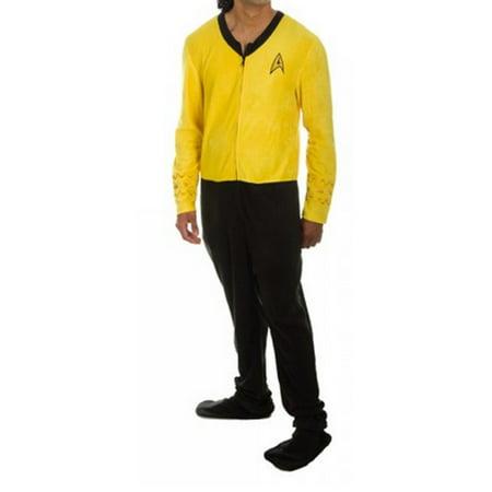 Gold Star Costume (Star Trek Command Gold Union Suit (ADULT)