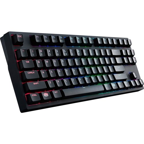 Cooler Master Masterkeys Pro S Sgk-6030-kkcm1-us Keyboard - Cable Connectivity - Usb 2.0 Interface - English [us] - Compatible With Computer - Qwerty Keys Layout - Mechanical - (sgk-6030-kkcm1-us)