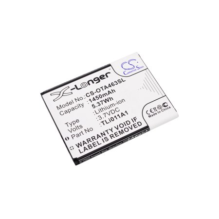 Replacement Battery For TRACFONE 3.7v 1450mAh / 5.37Wh