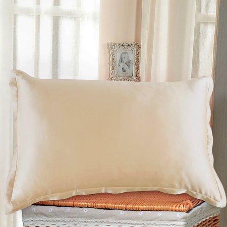 Random Color Double-side Silky Charmeuse Silk Pillowcase Beauty (Charmeuse Silk Pillowcase)