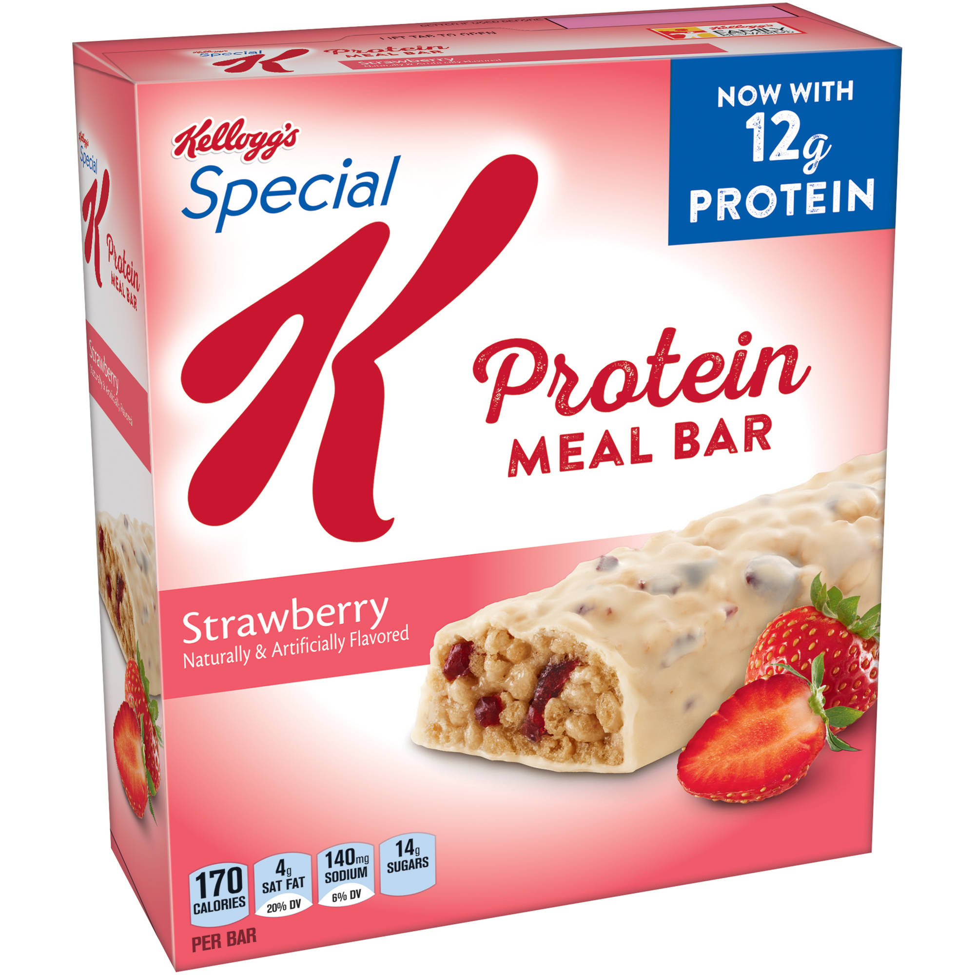 Special K Strawberry Protein Meal Bar, 6 count box