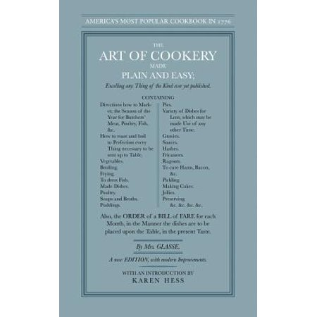 The Art of Cookery Made Plain and Easy (Paperback) (Halloween Cookery)