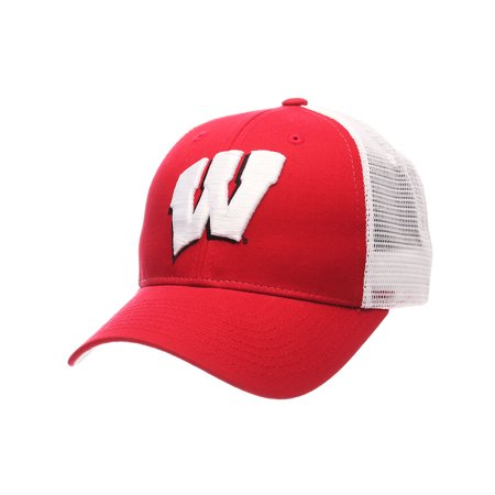 Wisconsin Badgers Big Rig Adjustable Hat (Red)