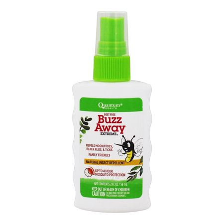 Quantum Health - Buzz Away Extreme Natural Deet-Free Insect Repellent Spray - 2 fl. oz. Buzz Away Insect Repellant