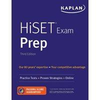 HiSET Exam Prep : Practice Tests + Proven Strategies + Online