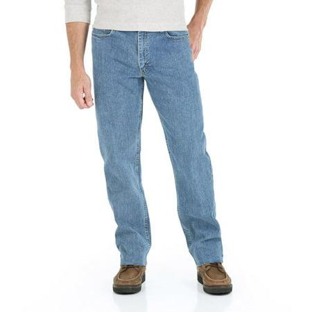cf6dd928 Wrangler - Tall Men's Advanced Comfort Relaxed Fit Jean - Walmart.com