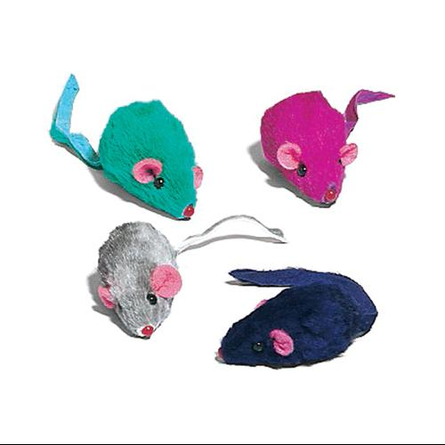 ETHICAL PRODUCTS INC 12PK Plush Mice Cat Toy