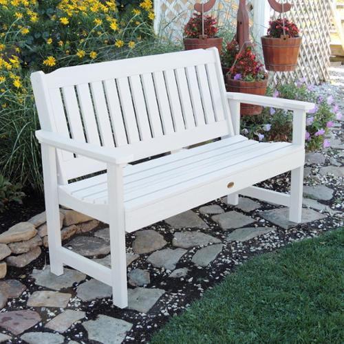 highwood  Marine-grade Synthetic Wood 4-foot Lehigh Bench