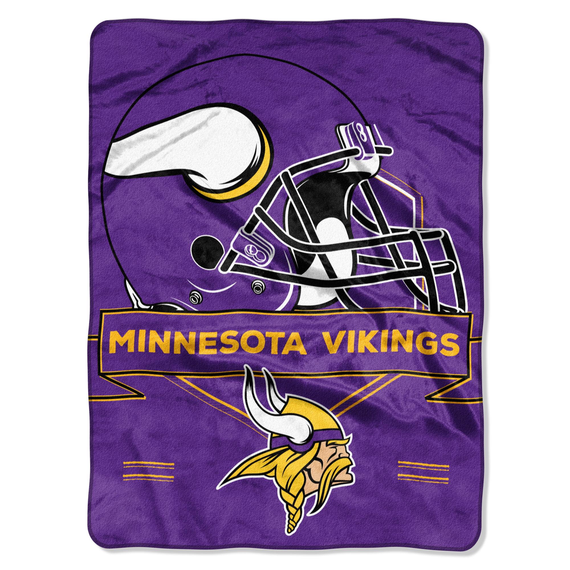 "Minnesota Vikings The Northwest Company 60"" x 80"" Prestige Raschel Blanket - No Size"