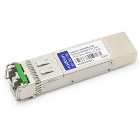 Add-on ONS-SCPlus-10GEP38.1-AO Cisco Compatible SFP Plus 10GBase-DWDM DOM 1538.19 nm 80 km LC Transceiver, 10 GB - image 1 of 1
