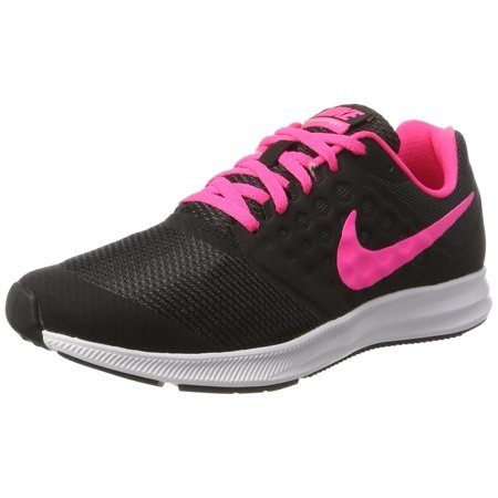 Nike 869972-002 : Girl's Downshifter 7 Athletic Shoe Black/Pink (7 M